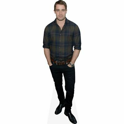 Christian Cooke (Checked Shirt) tamano natural