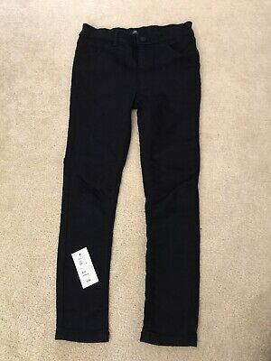 Boys Black River Island Ollie Skinny Jeans Age 9 Should Be £16