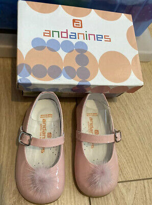 Girls Andanines Shoes size 20/4 bnwb rrp £52