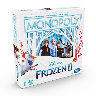 Monopoly Disney's Frozen II Board Game Brand New & Sealed FREE POST!