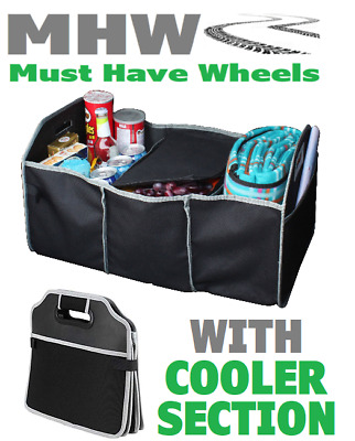 Simply STC01 Universal Car Boot Tidy Organiser With Cooler Section