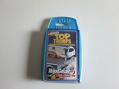 Top Trumps Card Game Top Gear Cool Cars 2