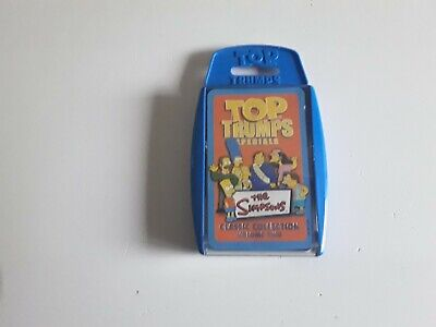 Top Trumps Card Game The Simpsons Classic  Collection  Volume  Two