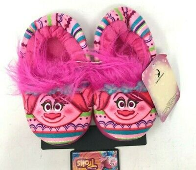 Slip-On New w//Tags Trolls Slippers Toddler Girl/'s size 9//10 or 11//12