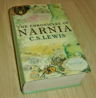 The Complete Chronicles Of Narnia C.s.lewis Hardback Book From Harper Collins