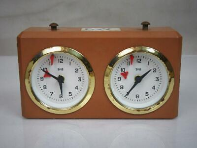 Vintage  Chess Clock Timer  By B Hb  West Germany For Spare Or  Repair