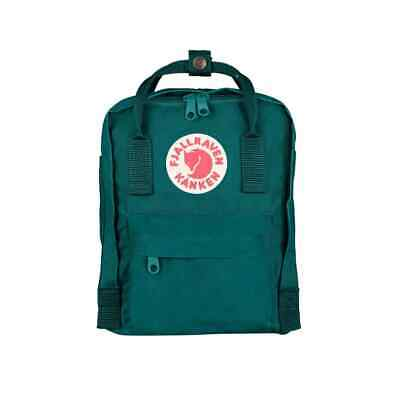 SALE EVENT Fjallraven Kanken Mini Ocean Green