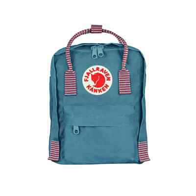 SALE EVENT Fjallraven Kanken Mini Air Blue and Striped