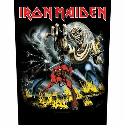 """Iron Maiden - """"Number Of The Beast"""" - Large Size - Sew On Back Patch"""