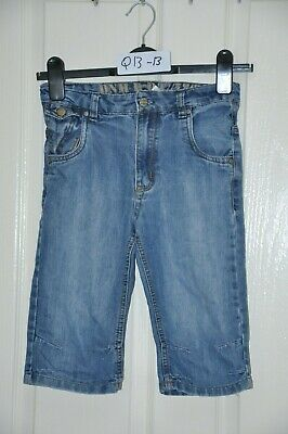 TU boy's 3/4 jean shorts, age 9 yrs, height 134 cm. In good condition