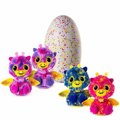 Hatchimals Surprise - Giraven - Hatching Egg with Surprise Twin Interactive C...