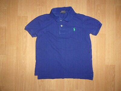 Ralph Lauren Polo Dark Royal Blue boys Polo shirt age 6 years