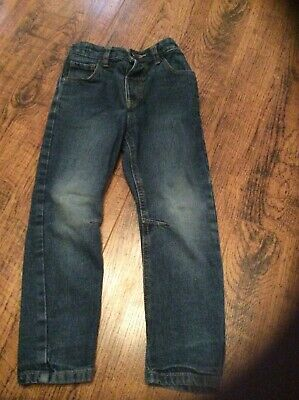 Boys blue denim jeans age 4-5 years George label