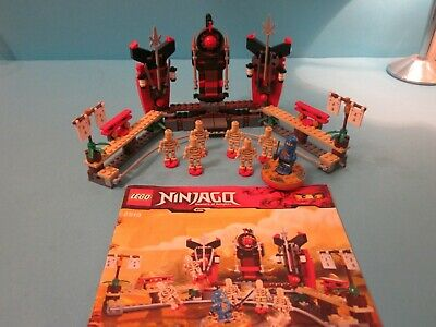 Lego Ninjago 2519. Skeleton Bowling, complete with Minifigures & Instructions
