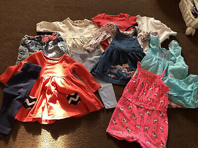 Bundle Of Girls Clothes 9-12 Months Various Brands (1)