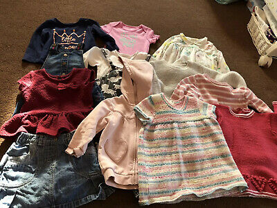 Bundle Of Girls Clothes 9-12 Months Various Brands (2)