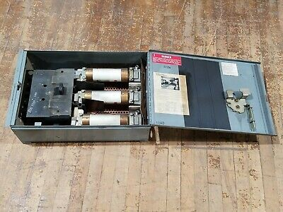 Westinghouse FDP 365R Fused Panelboard Disconnect Switch 400 Amp 3 Pole 600 VAC