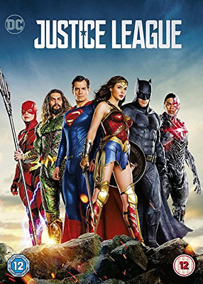 Justice League [DVD] [2018], Good DVD, Ben Affleck, Henry Cavill, Gal Gadot, Ezr