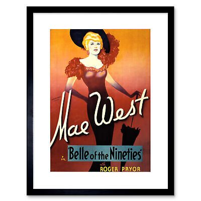 MAE WEST WALL ART PRINT POSTER AMK138