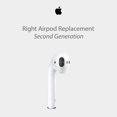 Apple AirPods Right Side OnlyGenuine Replacement (2nd Gen) UK