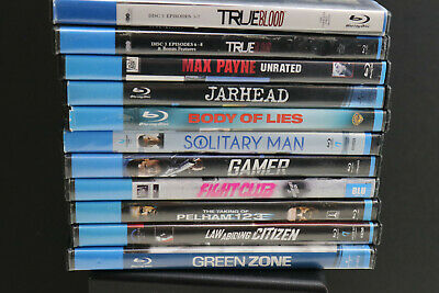 "Build Your Own Lot of BLUE-RAY  DVD's ""R"" Rated MOVIES various titles"