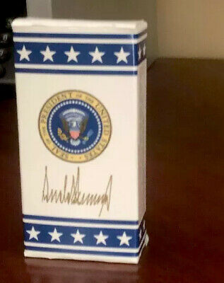 PRESIDENT DONALD TRUMP - AIR FORCE ONE - PRESIDENTIAL SEAL M&Ms - 1 BOX