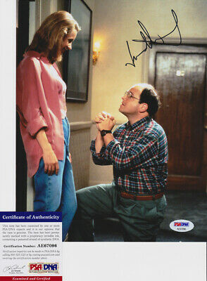 Jason Alexander George Costanza Seinfeld Signed Autograph 8x10 Photo PSA/DNA COA