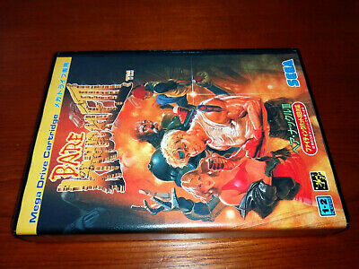 Bare knuckle III 3 / STREET OF RAGE 3  Mega Drive Japan Game MD SEGA REG CARD