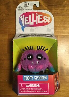 YELLIES Toofy Spooder Spider Voice Activated Fun Kids Toys Ages 5+