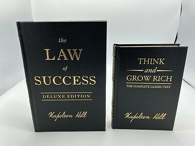 Think and Grow Rich & Laws Of Success By Napoleon Hill Combo Pack
