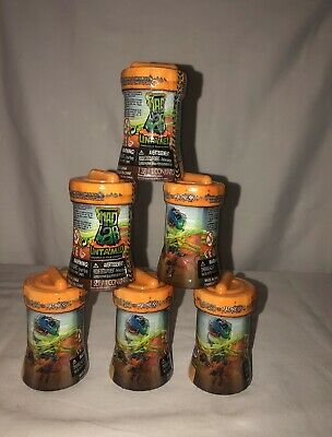 Lot of 6 Untamed Mad Lab Minis by Fingerlings Series 1 Capsules