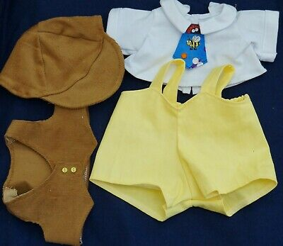 My Child Doll Short All Outfit - Shorts - T Shirt/Tie - Vest - Cap