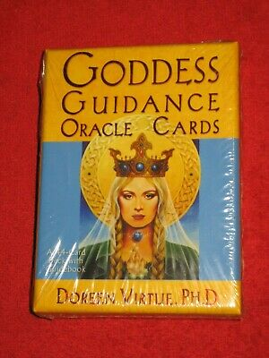Goddess Guidance Oracle Tarot Deck Doreen Virtue 44 Cards & Book New Unopened
