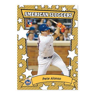 2019 Topps Pete Alonso #207 ONLY from TBT Set 35 2002 American Pie Sluggers