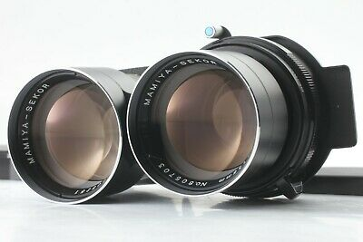 【EXC+++++】 MAMIYA SEKOR 135mm f/4.5 BLUE DOT TLR LENS for C220 C330 From Japan