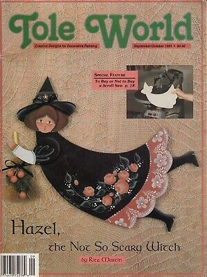 Tole World Magazine - Creative Designs For Decorative Painting - Sept./Oct. 1991