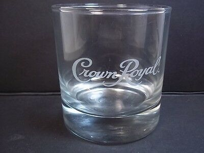 Crown Royal round whiskey sipping glass 6 oz whisky