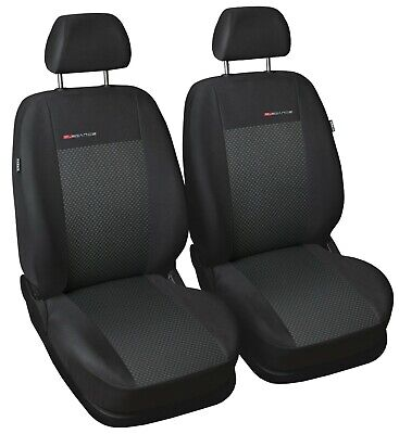 Fully tailored front seat covers for Dacia Duster  2010 - 2013  P3