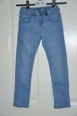 OKAIDI child's slim blue jeans, age 10 years, height 140 cm : In good condition