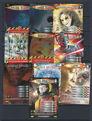 Doctor Who Battles In Time Trading Cards