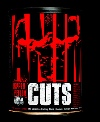 Universal Nutrition Animal Cuts 42 Packs Best Price Free P&P