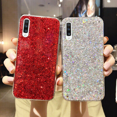 Bling Glitter Case For Huawei P30 P20 Lite Nova 5T 6 Y9 Y7 Soft Silicone Cover