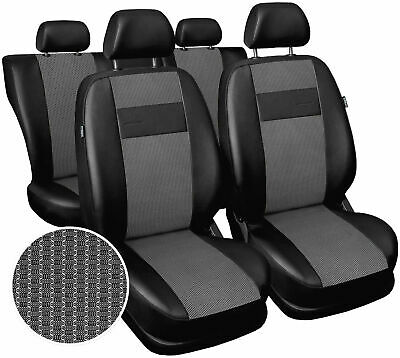 Seat covers fit Vauxhall Corsa full set polyester leatherette black