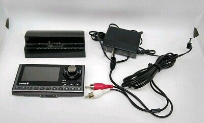 Sirius XM SP5 Sportster 5 with dock, ac adapter, and audio cable