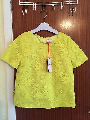 Stunning Genuine Ted Baker Lace Girls Top Aged 13 Years.  Brand New Tagged
