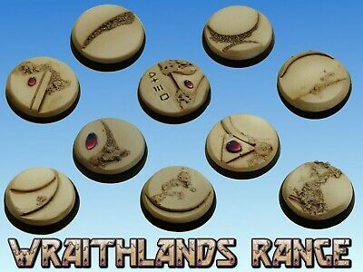 25mm Resin bases great for Warhammer 40k dire avengers, banshees, scorpions etc