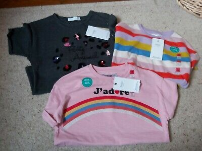 Bnwt Girls Marks and Spencer T Shirts Size 8-9