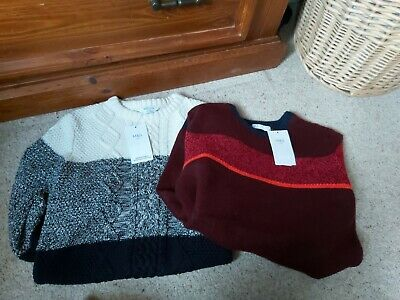 Bnwt Marks And Spencer Boys Jumpers Size 12-13