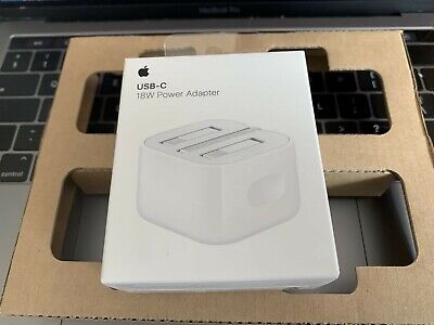 GENUINE APPLE A1696 18W TYPE C POWER CHARGER PLUG ADAPTER Iphone 11 MAX PRO IPAD