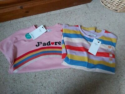 Bnwt Marks And Spencer Girls T Shirts 11-12